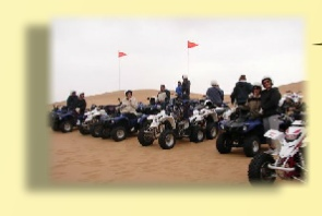 Quad Biking on the Beach